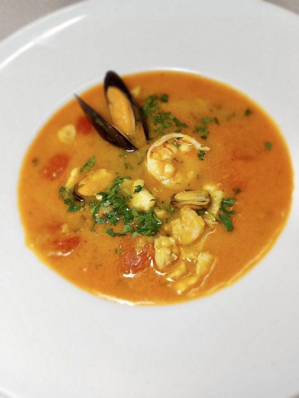 Supa de Pește și Fructe de Mare - 600ml