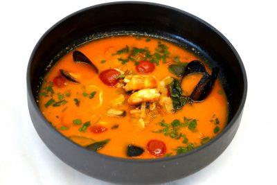 Supa de Peste si Fructe de Mare (2 pers.)